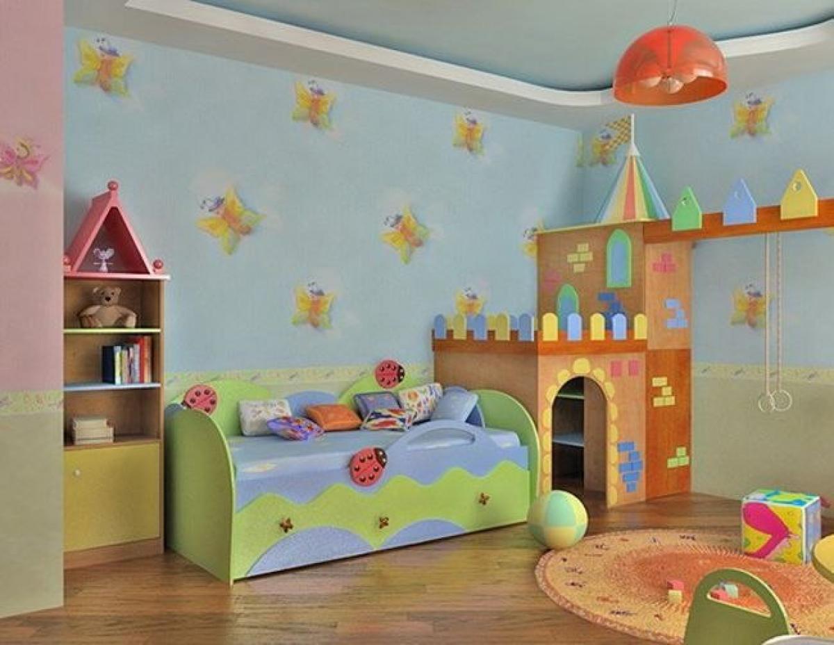 Фото детских комнат своими руками